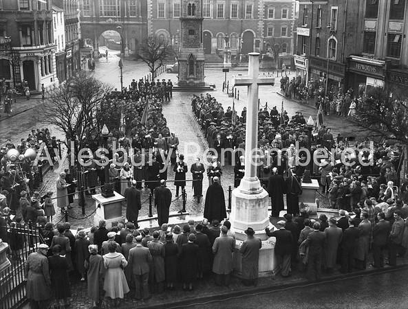 Remembrance Service, Nov 6th 1955