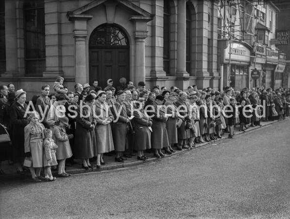 Remembrance Service, Nov 11th 1956