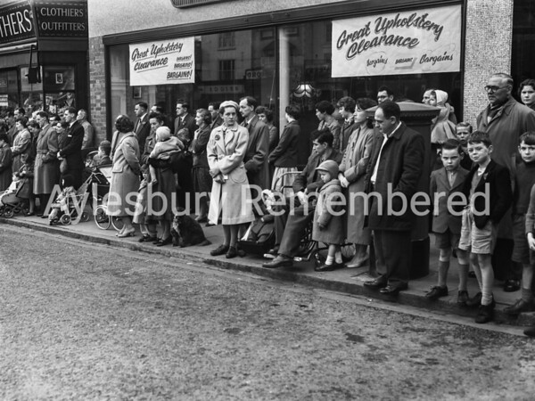 Remembrance Service, Nov 9th 1958