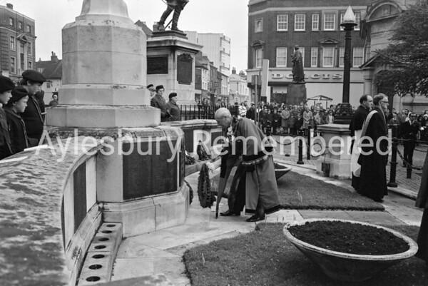 Remembrance Service, Nov 8th 1970