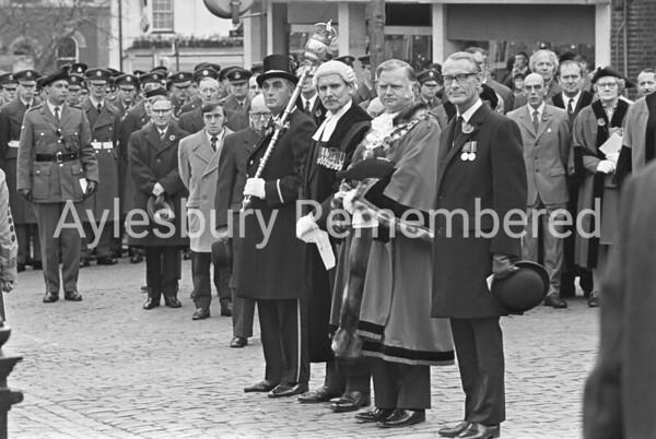 Remembrance Service, Nov 12th 1972