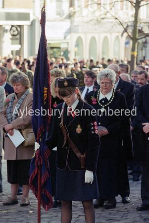 Remembrance Service, Nov 12th 2000