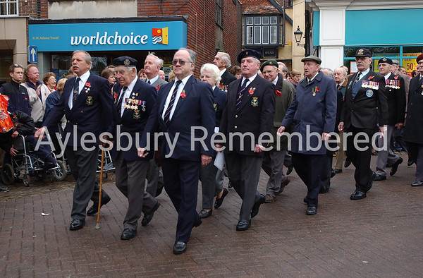 Remembrance Service, Nov 11th 2001