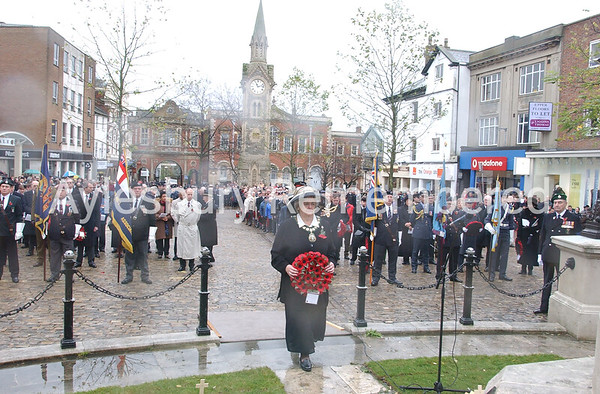 Remembrance Service, Nov 10th 2002