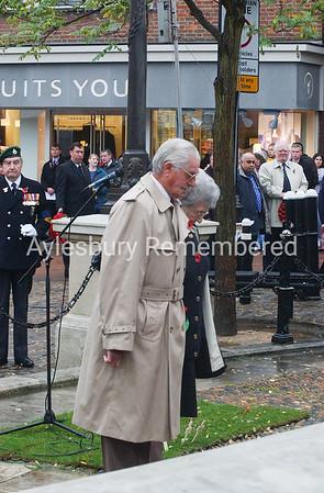 Remembrance Service, Nov 10th 2002