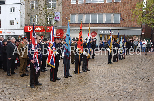 Remembrance Service, Nov 9th 2003
