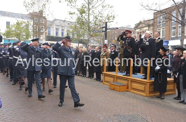 Remembrance Service, Nov 9th 2003