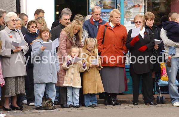 Remembrance Service, Nov 12th 2006