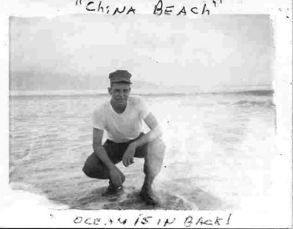 Rod Johnson at China Beach