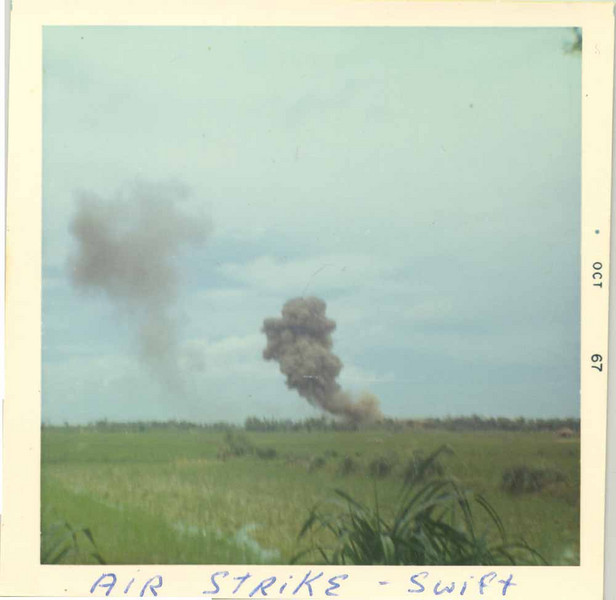 Air strike on Operation Swift