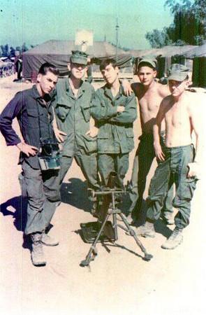 November '67, India 3/5 mortar crew