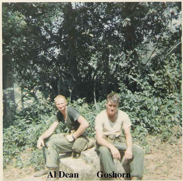 Al Dean (L) & Goshorn