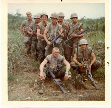 2nd Squad 3rd Platoon January to March 1970