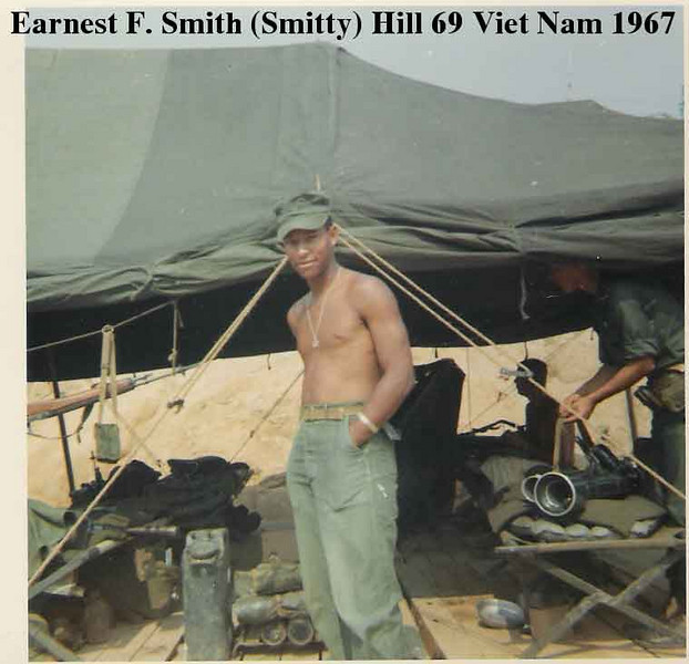 Ernest F. (Smitty) Smith, Hill 69, 1967