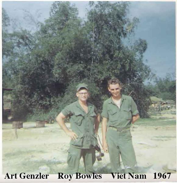 Art Genzler & Roy Bowles in 1967