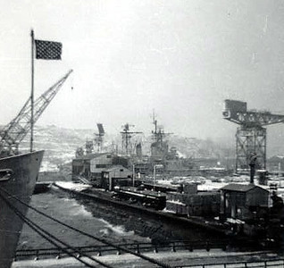 Remember Snow at Yokosuka?