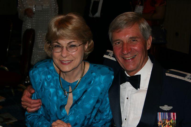 Merrie and John Casper -- best boss ever