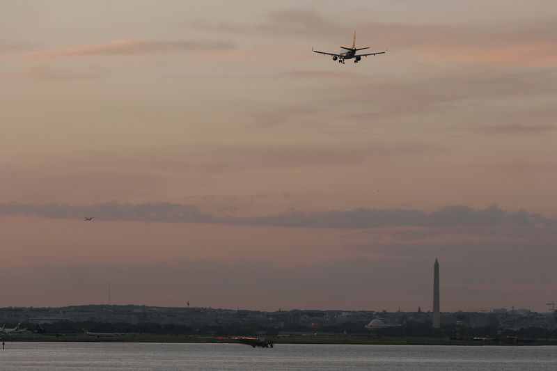 On final at Reagan National