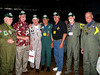 NIce hats!  Joe Kittinger, Jim Bell, Mike Cooper, Marty Cavato, Gregg Hanson, Steve Nichols, and Bob Harcrow
