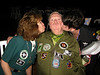 Joe Kittinger finds that being an aviation pioneer has it's benefits!  Courtesy of Sherry and Shelbie