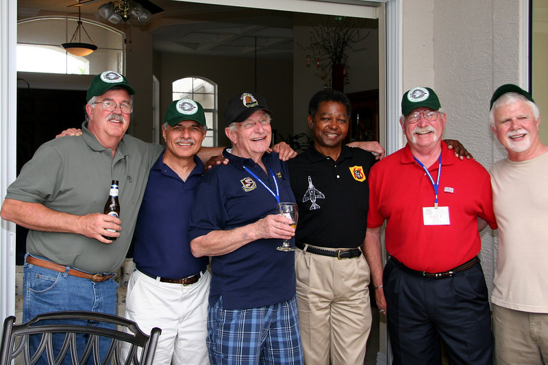 Lt Hanson, Lt Cavato, Mike Cooper, Tony Marshall, Jim Bell and Steve Nichols