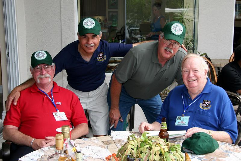 20 cents worth:  Jim Bell, Marty Cavato, Gregg Hanson and Joe Kittinger