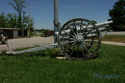 United States Army M1905 canon, located in  Culman Alabama