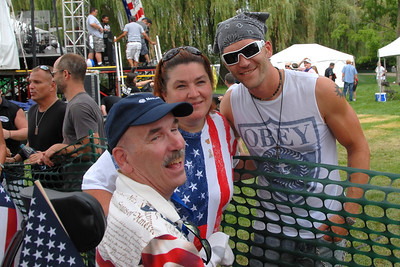 Rockin For The Troops - 2012 - Cantigny Park - Wheaton, Illinois - People in the Crowd