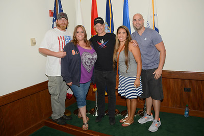 Rockin For The Troops - 2014 - Meet & Greet - Gary Sinese - Lt. Dan Band