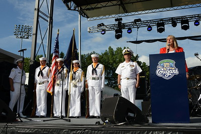 Rockin For The Troops - July 22, 2017 - Honor Guard and National Anthem