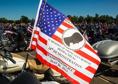 POWs/MIAs flag