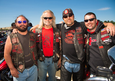 Members of the Second Brigade Motorcycle Club, Chapter N-Ohio.
