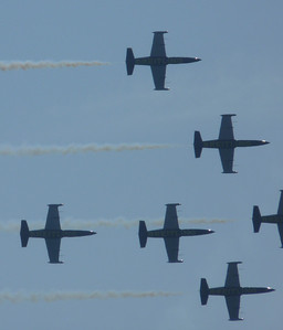 Breitling team su L-39 Albatross