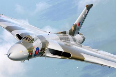 Royal Air Force Avro Vulcan B2 XH558 (msn SET12) near Dover (Robbie Shaw). Image: 933469.