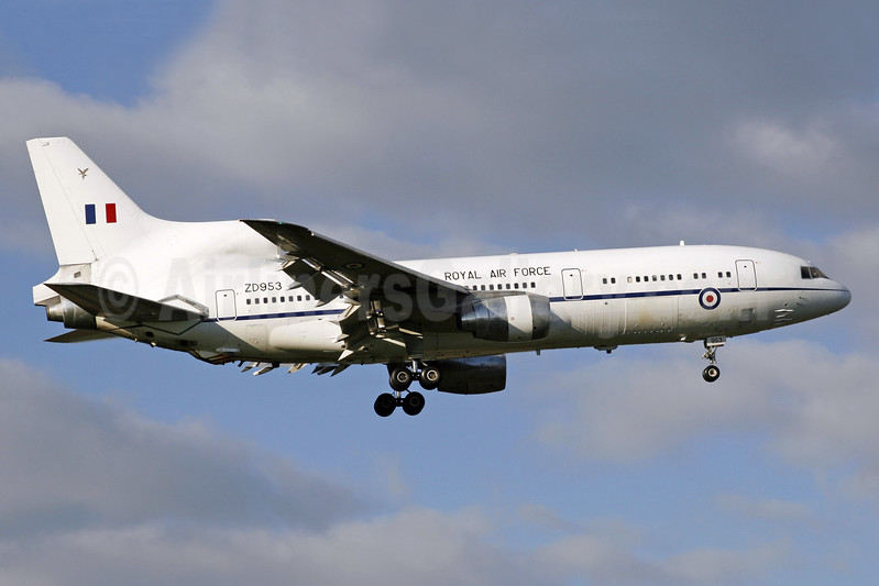 Royal Air Force (UK) Lockheed L-1011-385-3 TriStar 500 ZD953 (msn 1174) BZZ (SPA). Image: 940690.