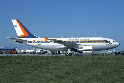 Royal Thai Air Force Airbus A310-324 HS-TYQ (60202) (msn 591) TLS (Christian Volpati Collection). Image: 949412.