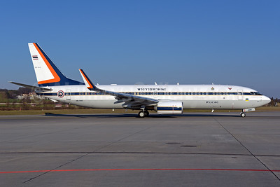 Royal Thai Air Force Boeing 737-8Z6 WL HS-HMK (msn 62445) ZRH (Rolf Wallner). Image: 941368.