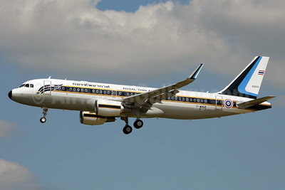 Royal Thai Air Force Airbus A320-214 WL F-WHUE (HS-TYT) (msn 6112) (Sharklets) TLS (Karl Cornil). Image: 923927.