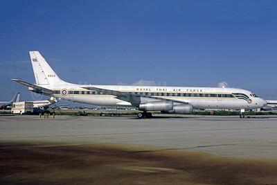 Royal Thai Air Force McDonnell Douglas DC-8-62CF 60112 (msn 45922) MIA (Bruce Drum). Image: 105270.