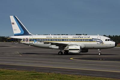 Royal Thai Air Force Airbus A319-115 (ACJ) HS-TYR (60221) (msn 1908) ARN (Ola Carlsson). Image: 905588.