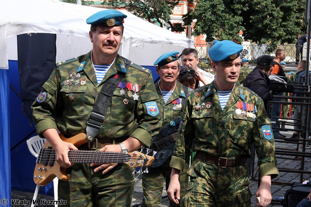 """Ансамбль ВДВ Голубые береты (VDV music group """"Blue berets"""")"""