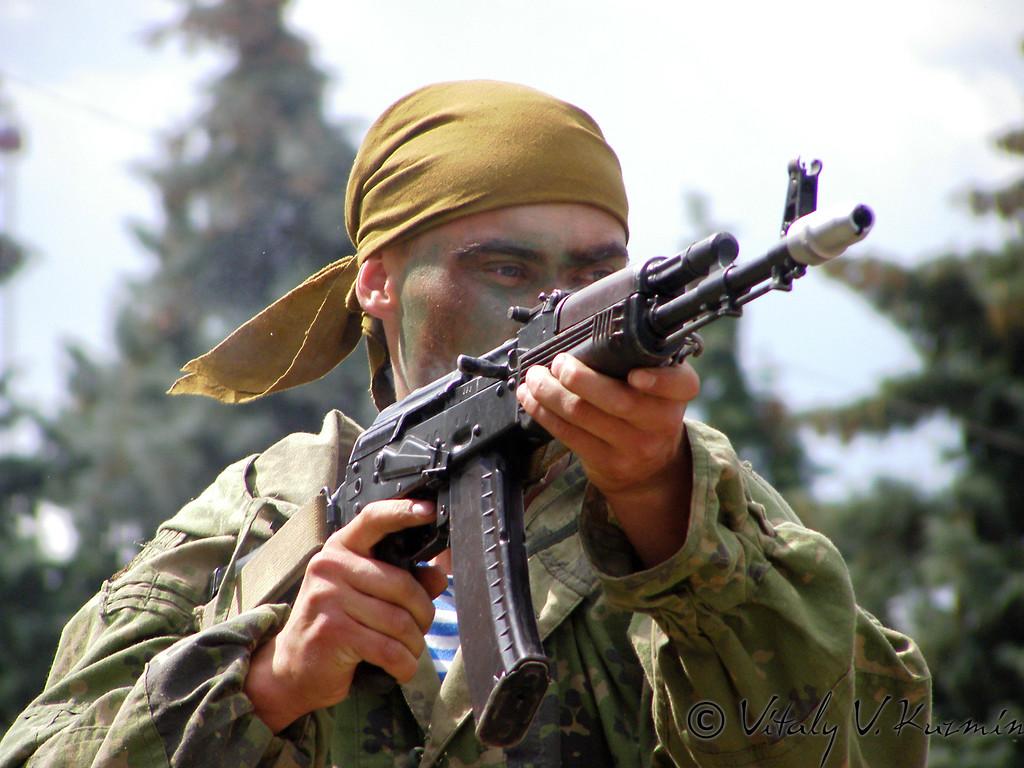 Показательное выступление 45-го отдельного полка специального назначения ВДВ (45th Separate Special Purpose Regiment of Airborne troops show)