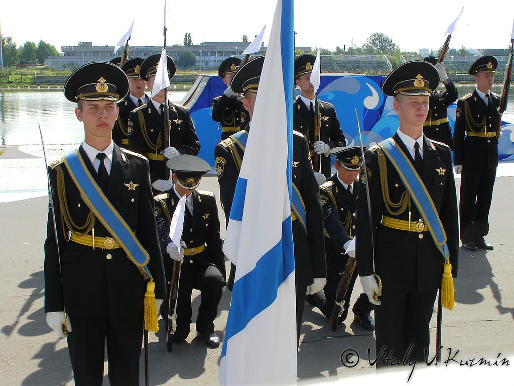 Празднование Дня ВМФ 2007 в Москве (Russian NAVY day 2007 celebration)