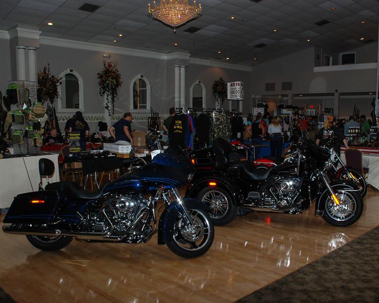 Tampa Harley Davidson displayed some new Harleys.