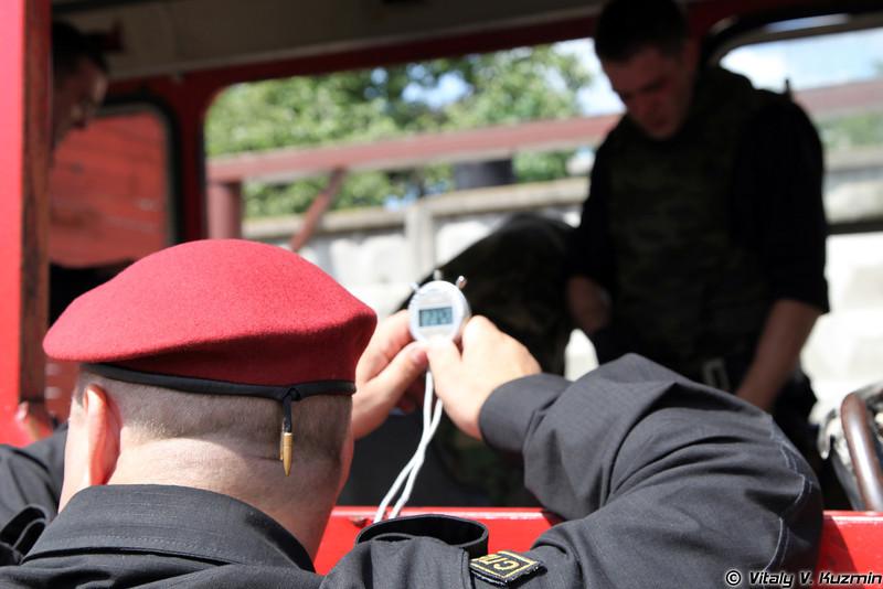 Выступление первой команды 33 ОСН «Пересвет» ВВ МВД России (33rd OSN «Peresvet» of Internal troops MIA Russia)