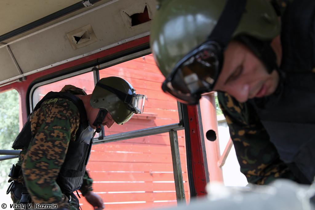 Команда 25 ОСН «Меркурий» ВВ МВД России (25th OSN «Merkuriy» of Internal troops MIA Russia)