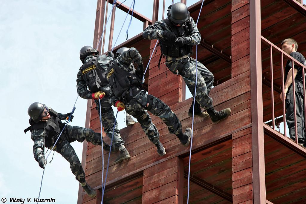 СПБТ «Алмаз» МВД Республики Беларусь («Almaz» counter-terrorism special unit of MIA Republic of Belarus)