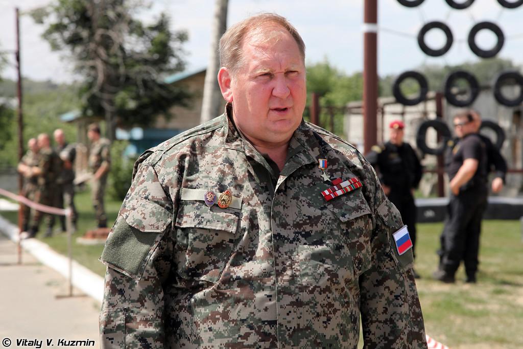 Герой России полковник Лысюк Сергей Иванович (Hero of Russia, colonel, the most famous Vityaz special unit commander Sergey Lisyuk)