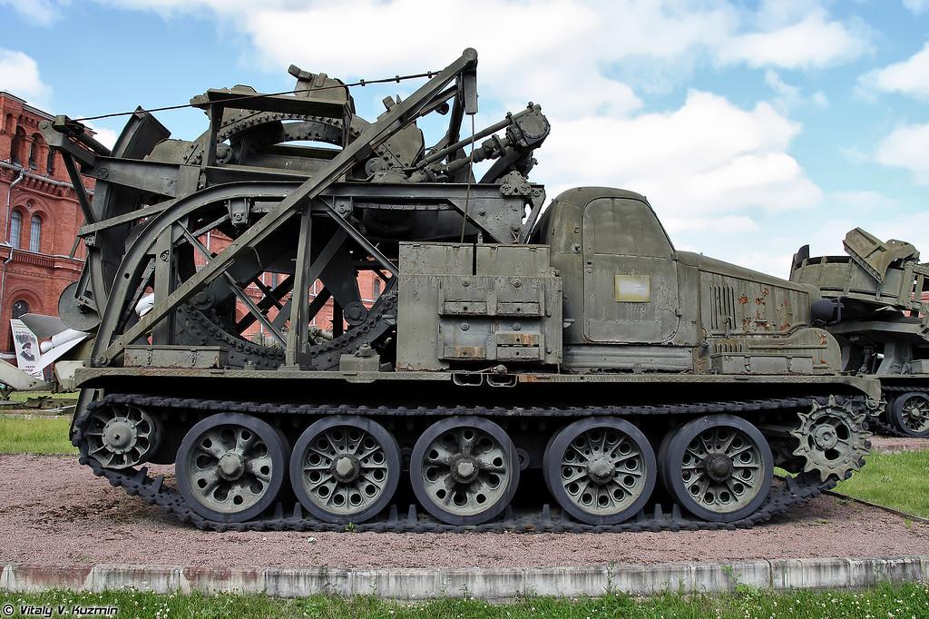 Быстроходная траншейная машина БТМ (BTM)