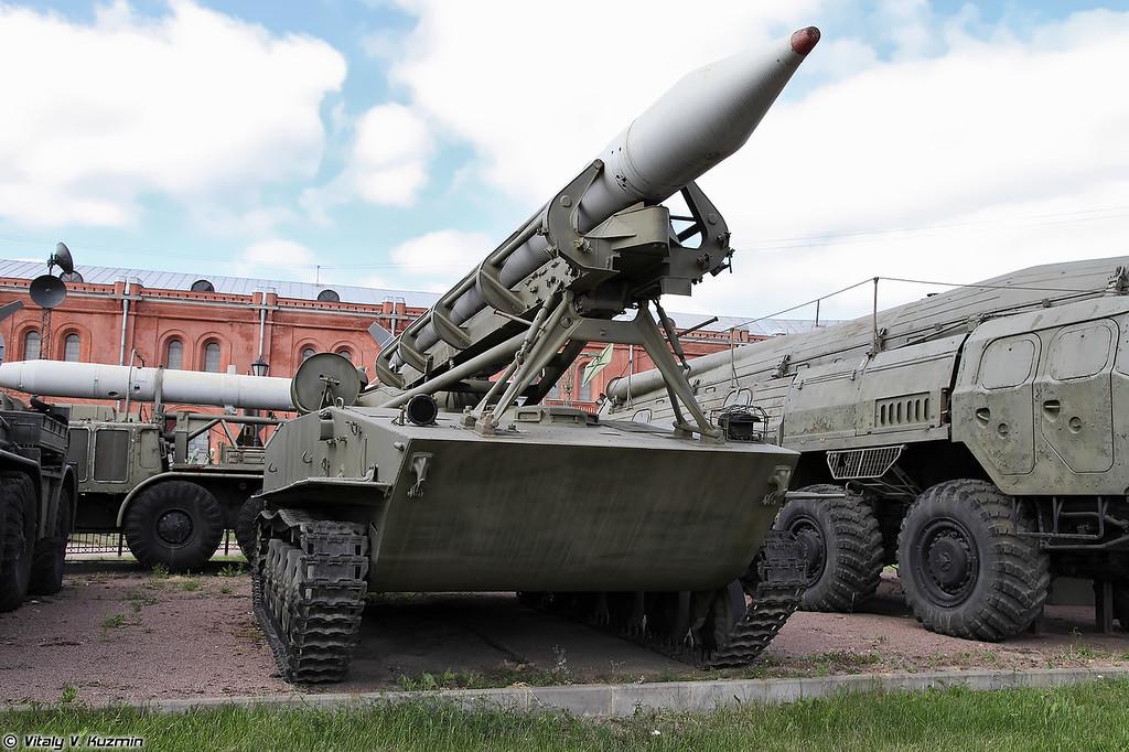 Пусковая установка 2П16 ракетного комплекса 2К6 Луна (2P16 TEL 2K6 Luna missile system)